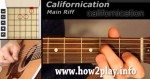 "Jak zagrać Red Hot Chili Peppers ""Californication"""