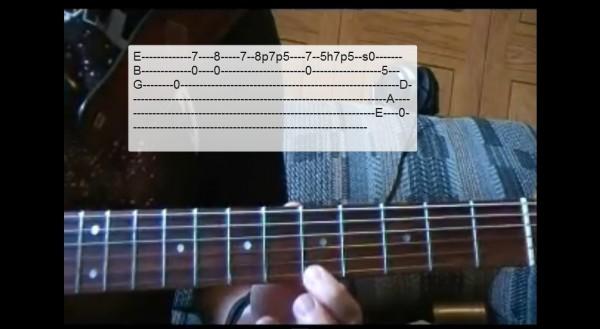 Metallica - Nothing else matters - lekcja z tabulaturą